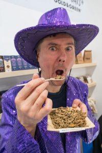 Wie schmecken essbare Insekten?